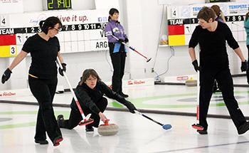 wladies curling - wendy
