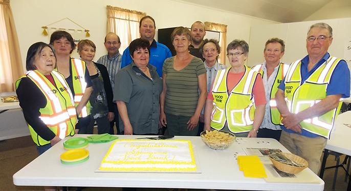 wfood bank - cake group